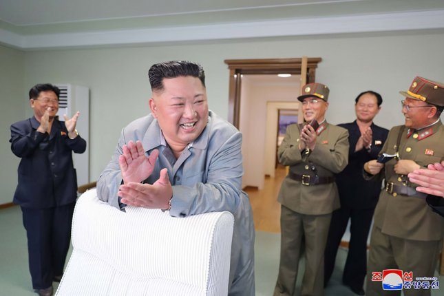 North Korea fired what is believed to have been submarine-launched missiles ahead of denuclearization talks with the United States. File Photo by KCNA/UPI
