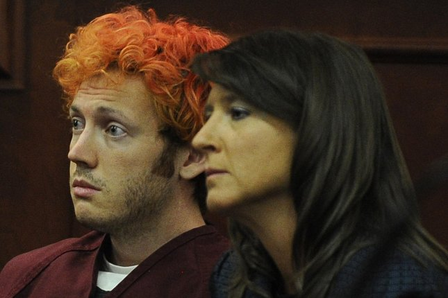 Shackled James Holmes The Aurora Theater Shooting Suspect Quiet During Hearing Upi Com