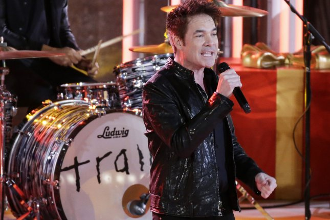 Train lead singer Patrick Monahan. The band is set to embark on a 2019 tour with the Goo Goo Dolls. File Photo by John Angelillo/UPI