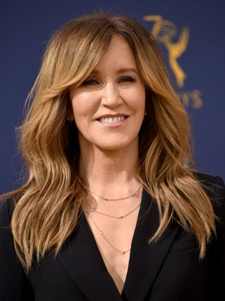 Felicity Huffman formally entered her guilty plea in court Monday. File Photo by Christine Chew/UPI