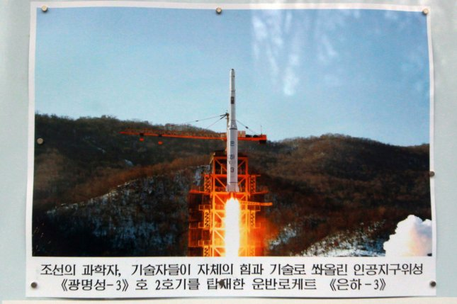 North Korean satellite Kwangmyongsong-2 Unit 2 launched on Dec. 12, 2012, from North Korea's Unha-3 rocket, is not transmitting data, a South Korean analyst said. File Photo by Stephen Shaver/UPI