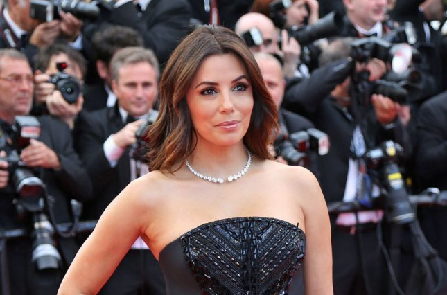 Eva Longoria at the Cannes International Film Festival screening of Money Monster on May 12. The actress got engaged to Jose Baston in December. File Photo by David Silpa/UPI