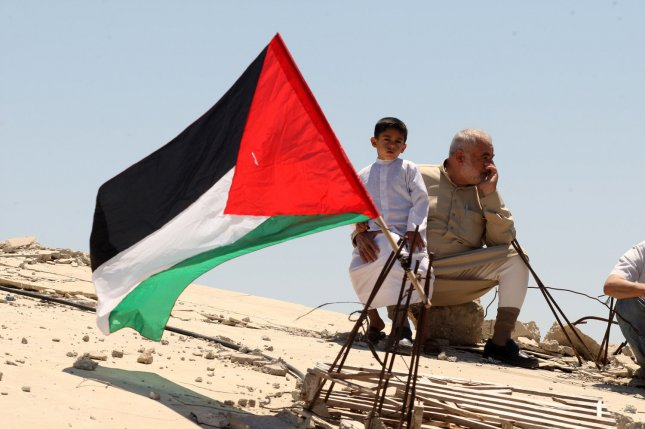 Though more Americans favor the establishment of a Palestinian state, the number of Americans who oppose the proposal increased 5 percent, a Gallup poll shows. In the poll, 45 percent of Americans support Palestinian statehood in comparison to 42 percent who oppose. File Photo by Ismael Mohamad/UPI