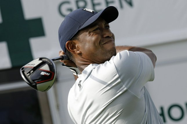 Tiger Woods recently dropped from No. 6 to No. 8 in the Official World Golf Ranking. File Photo by Peter Foley/UPI