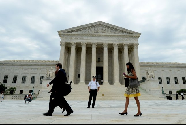 The Supreme Court said it would take up a Republican-led challenge to Obamacare in its next term. File Photo by Pat Benic/UPI