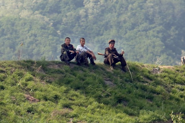 Men in North Korea are universally conscripted into the military. Former soldiers said in a South Korean survey they witnessed death, including public executions, during military service. File Photo by Stephen Shaver/UPI