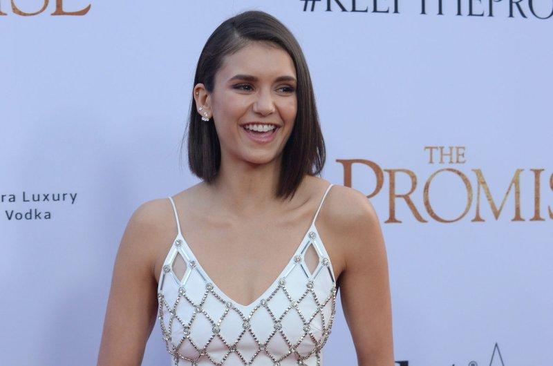 Nina Dobrev attends the Los Angeles premiere of The Promise on April 12. File Photo by Jim Ruymen/UPI