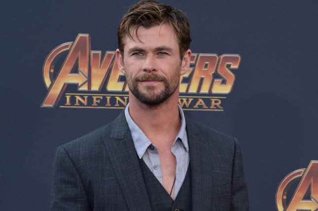 Chris Hemsworth is headed to Thailand to continue filming his Netflix movie Dhaka. File Photo by Jim Ruymen/UPI.