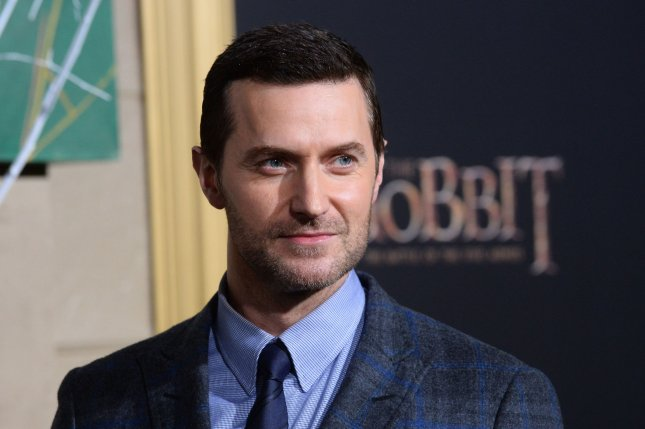 Actor Richard Armitage has narrated the audiobook version of the upcoming novel The Jane Austen Society. File Photo by Jim Ruymen/UPI