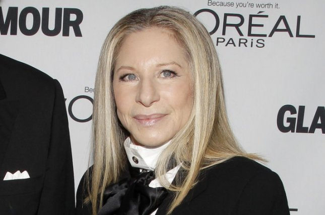 Barbra Streisand has joined NBC special One Night Only: The Best of Broadway along with Antonio Banderas. File Photo by John Angelillo/UPI