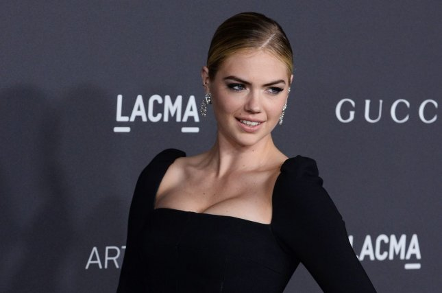 Kate Upton attending the LACMA Art + Film gala honoring Robert Irwin and Kathryn Bigelow on October 29. Upton once again graces the cover of Sports Illustrated annual swimsuit issue. File Photo by Jim Ruymen/UPI