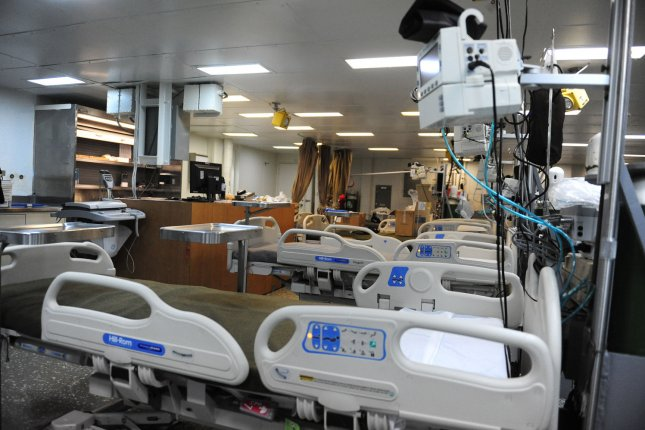 Spouses of ICU patients are at increased risk for heart disease, a new study has found. Photo by UPI/Kevin Dietsch