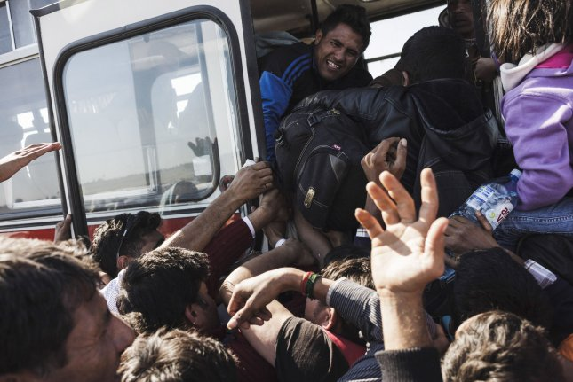 The International Organization for Migration reported more than 76,000 migrants arrived to Europe by sea and at least 409 migrants died or went missing in the first six weeks of 2016. The migrant crisis could be further escalated as Syrian President Bashar al-Assad and his allies surround the besieged city of Aleppo, which was once the most populated city in Syria. File photo by Achilleas Zavallis/UPI