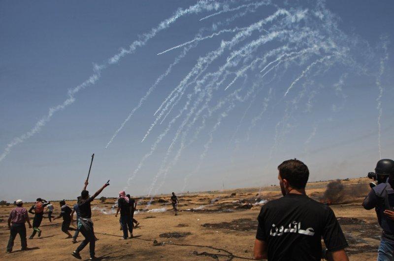 Jew Detector: Gaza Border Protests: 4 Palestinians Killed
