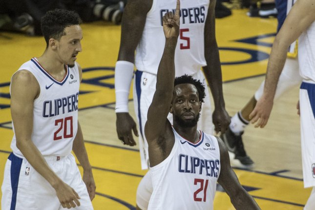 Guard Patrick Beverley (21) is known as one of the most gritty defenders in the NBA. File Photo by Terry Schmitt/UPI