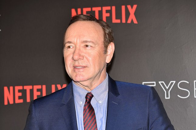 A massage therapist who accused actor Kevin Spacey of sexual battery has died, Spacey's legal team said. File Photo by Christine Chew/UPI