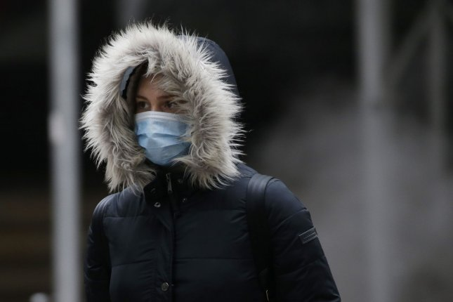 In a study, researchers found face masks did not restrict breathing in oxygen or breathing out carbon dioxide. File Photo by John Angelillo/UPI