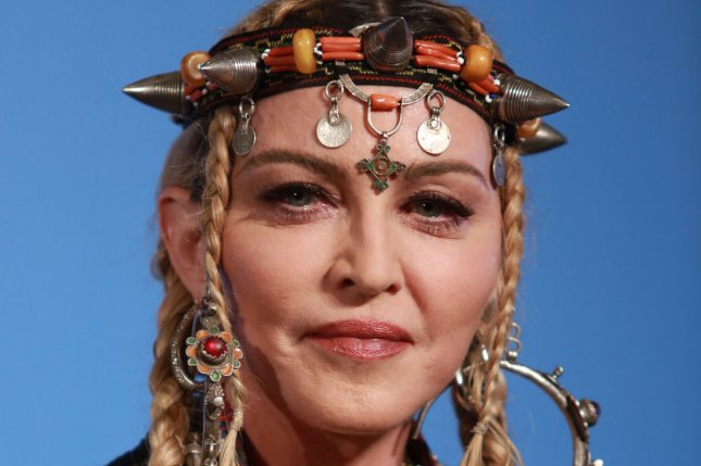 Madame X, a new film documenting Madonna's Madame X tour, will premiere on Paramount+ in October. File Photo by Serena Xu-Ning/UPI