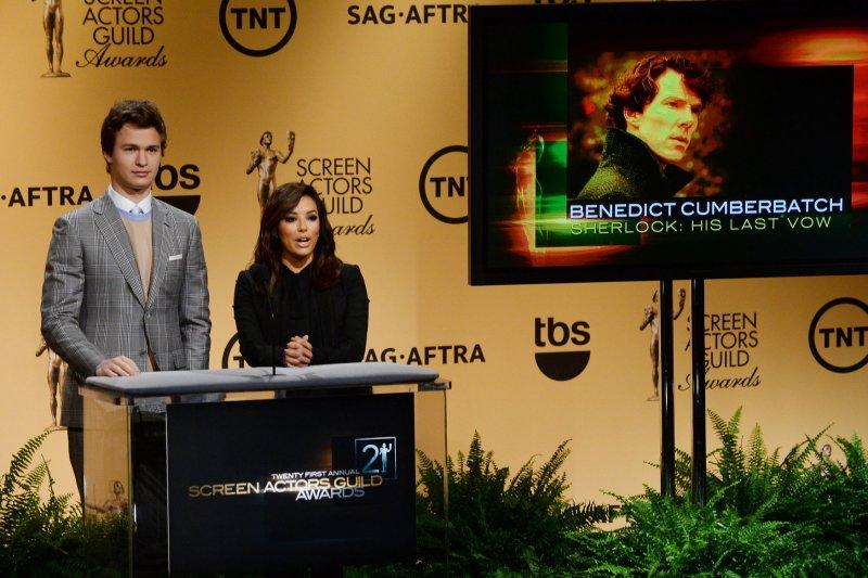 Aniston, Cumberbatch, Ruffalo earn Screen Actors Guild Award nominations