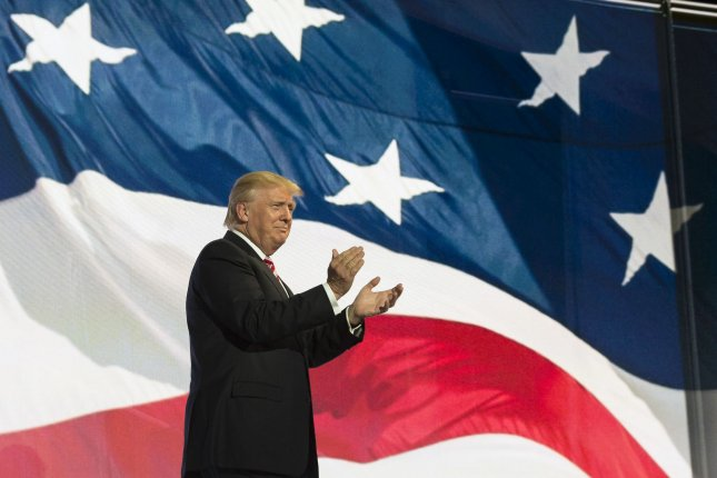 President-elect Donald Trump banked the necessary electoral votes for the presidency on Monday, gaining 304 of the 306 expected votes -- while Democrat Hillary Clinton took 224 of her expected 228. The defecting votes came from Texas (Trump) and Washington state (Clinton). File Photo by Molly Riley/UPI