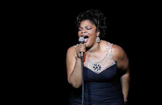 Mo'Nique performs her comedy routine at the Theater at Madison Square Garden in New York on April 24, 2010. On Saturday, the actress and comedian asked her fans to boycott Netflix for offering her only $500,000 for a comedy special. File Photo by Laura Cavanaugh/UPI