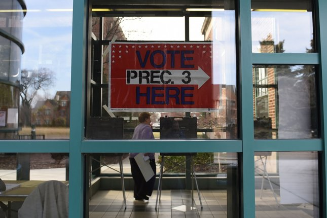 Alabama, California, Iowa, Mississippi, Montana, New Jersey, New Mexico and South Dakota all have primaries Tuesday, as voters decide match-ups for November midterms. File Photo by Molly Riley/UPI