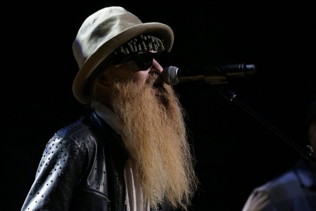 Billy Gibbons performs at the 3rd annual God's Love We Deliver Love Rocks NYC! Benefit Concert at the Beacon Theatre in New York City on March 7. The rocker turns 70 on December 16. File Photo by John Angelillo/UPI