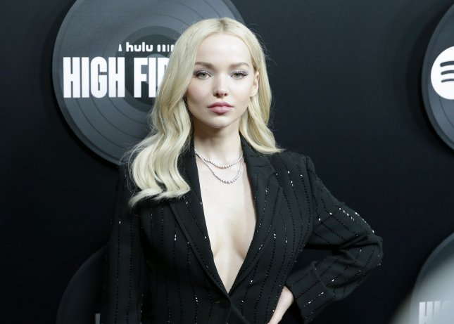 Dove Cameron and her boyfriend Thomas Doherty have broken up. File Photo by John Angelillo/UPI