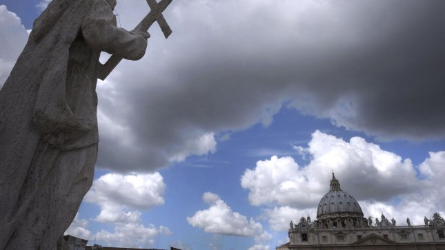 St. Peter's Square at the Vatican. UPI/Stefano Spaziani