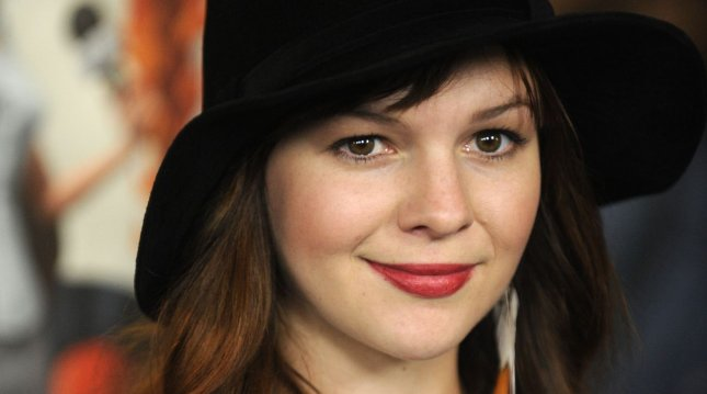 Actress Amber Tamblyn. UPI/Phil McCarten