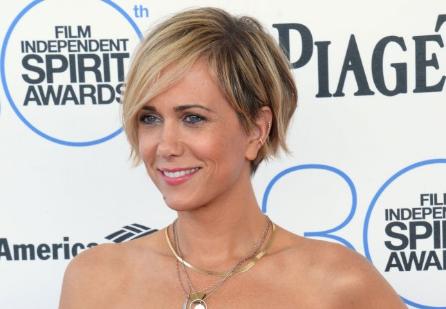 Actress and comedian Kristen Wiig attends the 30th annual Film Independent Spirit Awards in Santa Monica, California on Feb. 21, 2015. Photo by Jim Ruymen/UPI