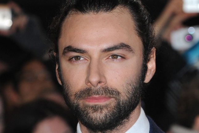Poldark actor Aidan Turner attends the world premiere of The Hobbit: The Battle of the Five Armies in London on December 1, 2014. File Photo by Paul Treadway/UPI