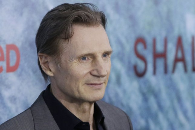 Liam Neeson arrives on the red carpet at The Shallows world premiere on June 21, 2016 in New York City. The actor will be seen in The Silent Man this September. File Photo by John Angelillo/UPI