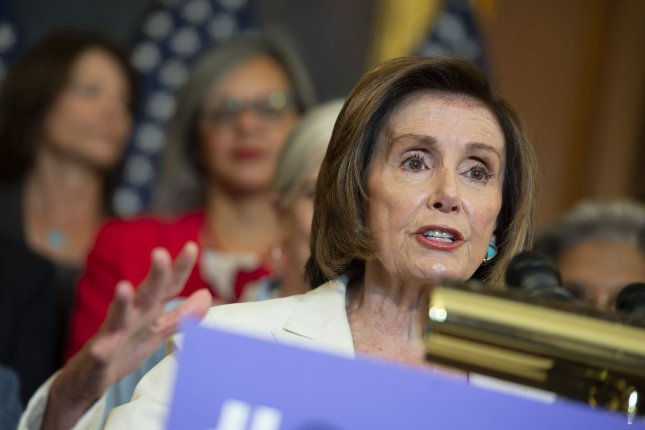 Speaker of the House Nancy Pelosi vetoed two choices to serve on the Jan. 6 committee Wednesday. FilePhoto by Bonnie Cash/UPI