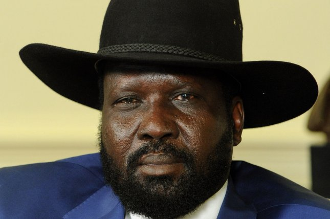 South Sudanese President Salva Kiir is expected to meet with his ousted former vice president for peace talks in Ethiopia on December 31, 2013. (UPI Photo/Roger L. Wollenberg)