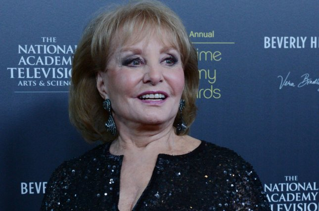 Barbara Walters appears backstage at the 39th annual Daytime Emmy Awards. UPI/Jim Ruymen