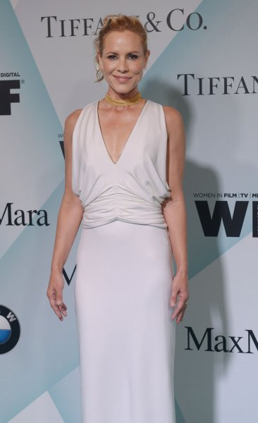 Maria Bello attends the Women in Film Crystal+Lucy Awards in Los Angeles on June 16. File Photo by Jim Ruymen/UPI
