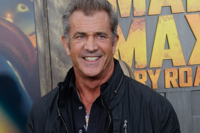 Actor Mel Gibson attends the premiere of the motion picture thriller Mad Max: Fury Road in Los Angeles on May 7, 2015. Photo by Jim Ruymen/UPI
