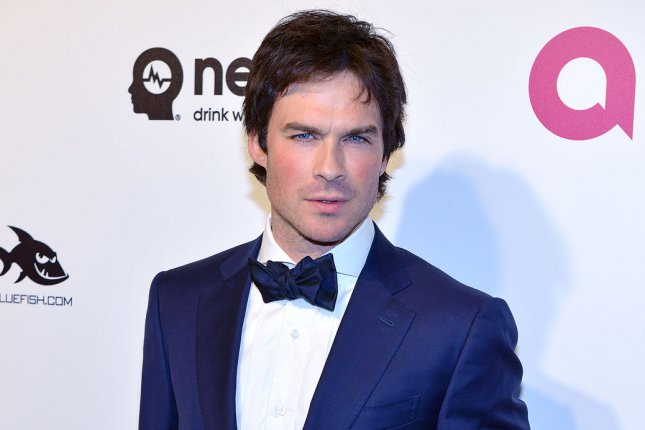 Ian Somerhalder attends the Elton John AIDS Foundation Academy Awards viewing party on February 28, 2016. File Photo by Christine Chew/UPI