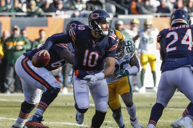 The Chicago Bears and Green Bay Packers will do battle to start the 2019 NFL season in Chicago on Sept. 5. File Photo by Kamil Krzaczynski/UPI