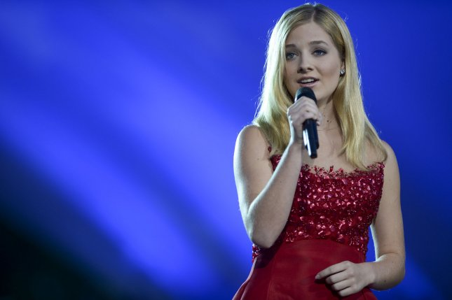 Jackie Evancho was eliminated from The Masked Singer on Wednesday night. File Photo by Leigh Vogel/UPI