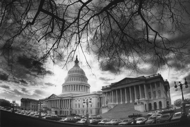 On March 1, 1971, a bomb exploded in a restroom in the Senate wing of the U.S. Capitol, causing $300,000 damage but no injuries. File Photo by Tim Clary/UPI