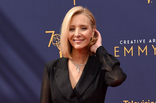 Lisa Kudrow talked about the upcoming Friends reunion special on The Late Show with Stephen Colbert. File Photo by Gregg DeGuire/UPI