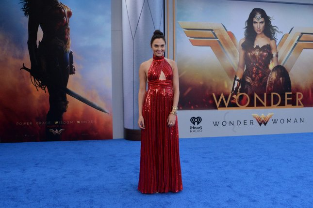 Gal Gadot attends the premiere of Wonder Woman in Los Angeles on May 25. File Photo by Jim Ruymen/UPI