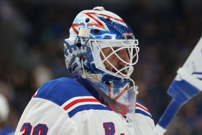 Watch Rangers Henrik Lundqvist Robs Chris Wagner With Sprawling