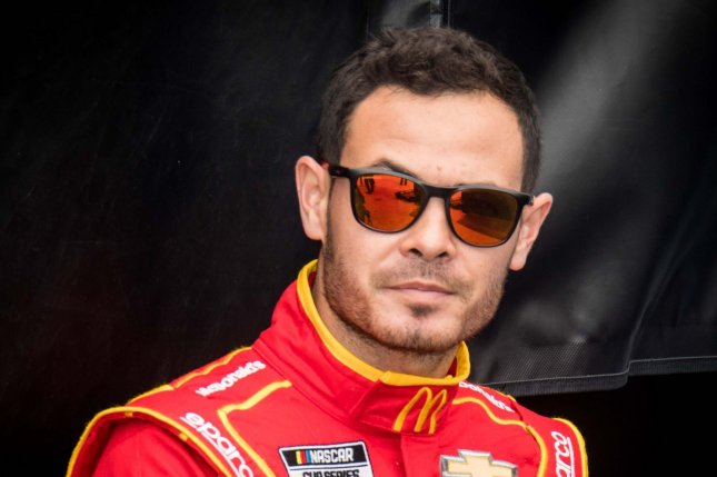 NASCAR Cup Series driver Kyle Larson led a race-high 103 laps to win the 2021 Pennzoil 400 on Sunday at Las Vegas Motor Speedway in Las Vegas. File Photo by Edwin Locke/UPI