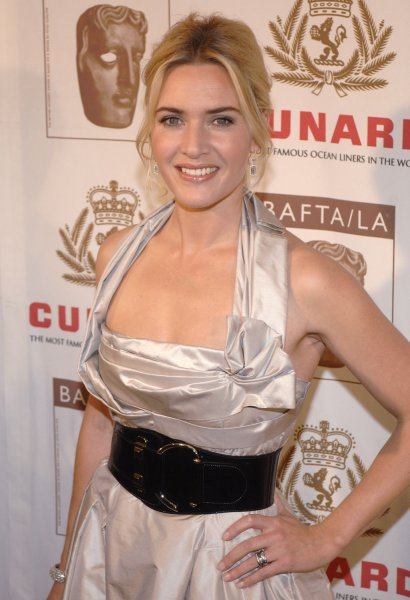 Actress Kate Winslet, recipient of the Britania Award for British Artist of the year, attends the BAFTA/LA Cunard Britania Awards in Los Angeles on November 1, 2007. (UPI Photo/ Phil McCarten)