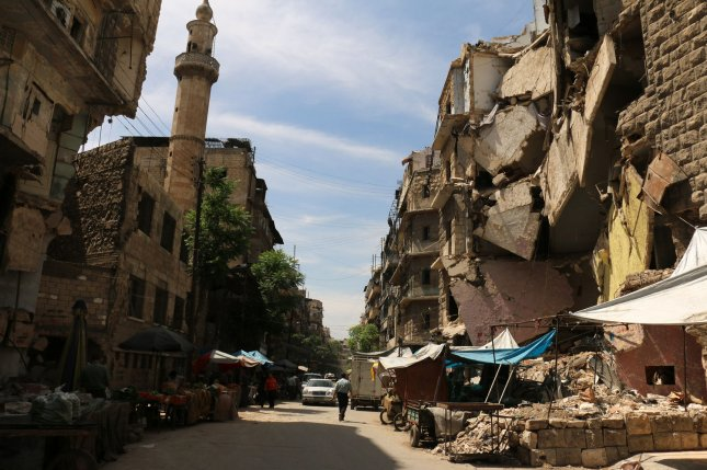 The Syrian civil war has devastated parts of the country, including the besieged city of Aleppo. The war involves the Islamic State, the Syrian government and multiple Syrian rebel groups. The Syrian army on Wednesday began a 72-hour unilateral cease-fire. File photo by Ameer Alhalbi/UPI