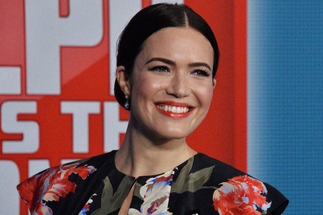 Mandy Moore shared a picture from her nuptials Monday on Instagram. File Photo by Jim Ruymen/UPI