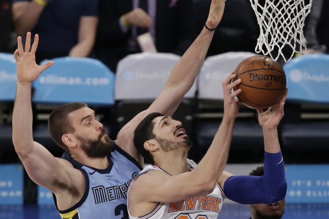 Marc Gasol (L) has agreed to a two-year contract with the Los Angeles Lakers. File Photo by John Angelillo/UPI